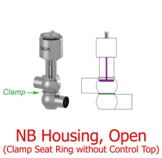Shut Off NB Valve_noCT Clamp Open-Web Image